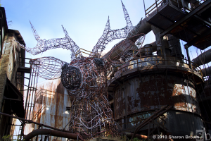 The Carrie Deer, Carrie Furnaces 2010